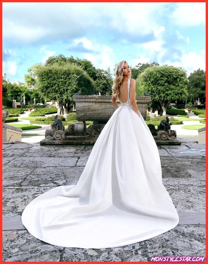 Chic redéfinie en 2019 Robes de épousée Ashley & Justin Attache