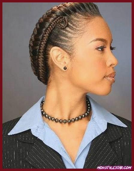 Photo de 20 coiffures noires élégantes de cordon