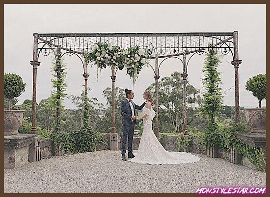 Photo de Inspiration de mariage romantique française tirée de Sephory Photography