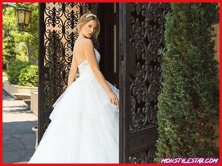 Robes de mariée couture couture 2018 élégamment classiques