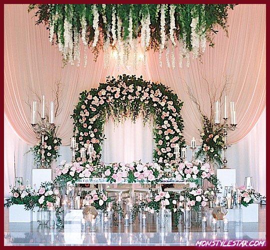 Photo of Mariage au Texas élégant avec des fleurs roses magnifiques