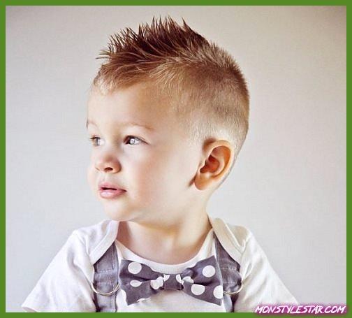 Photo de 15 coupes de cheveux mignon bébé garçon