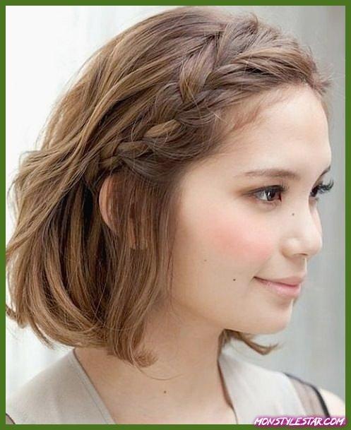 20 tresses simples pour cheveux courts