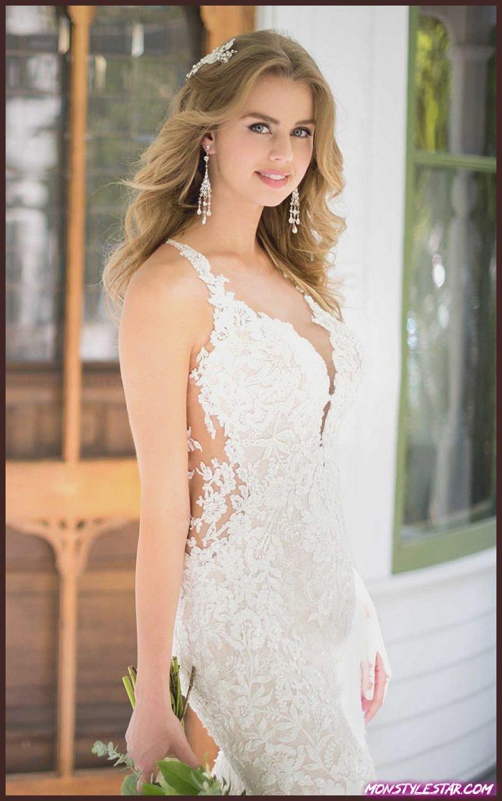 Élégamment romantique printemps 2018 robes de mariée Martina Liana