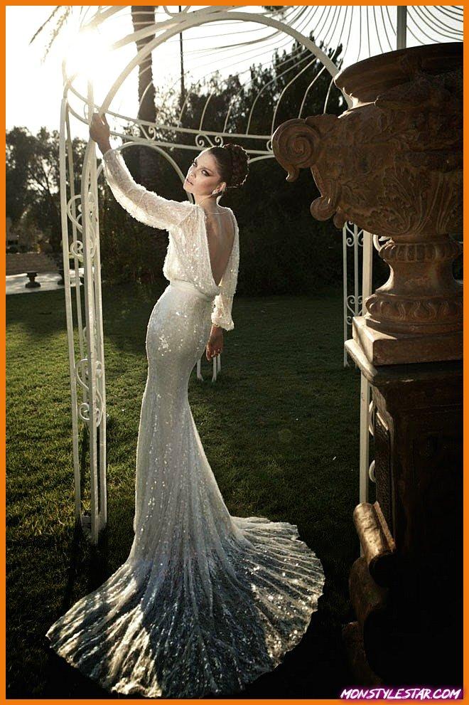 21 magnifiques robes de mariée à manches longues