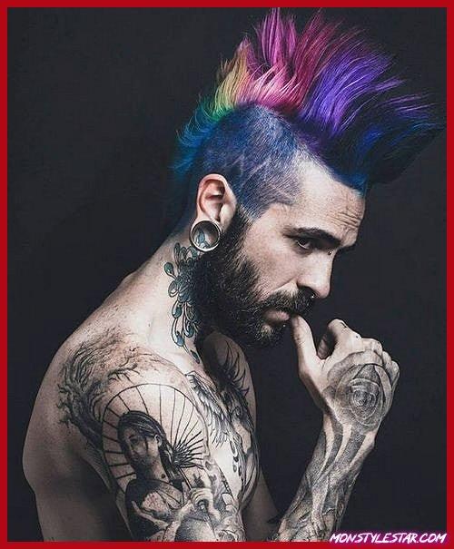 Photo de Top coiffures punk pour hommes