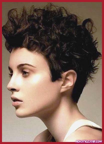 Photo de 20 coiffures courtes ondulées quant à les filles
