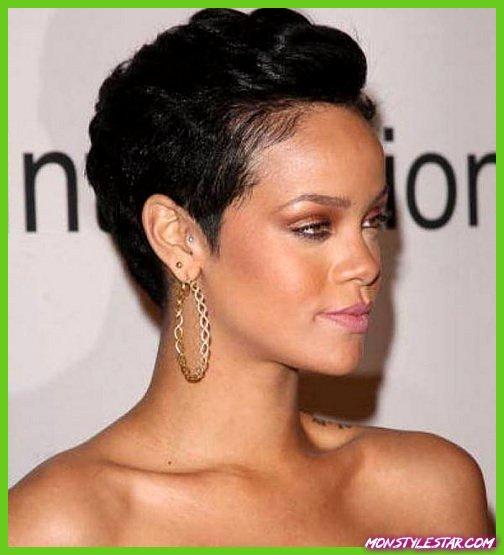 Ultra-moderne Slicked Back Updo simples coiffures courtes pour les femmes