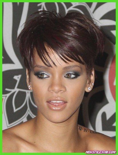 Tousled Textured Crop- Les coiffures courtes de Rihanna