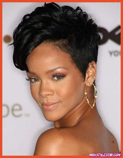 Coiffure courte et douce - Coiffures naturelles pour cheveux courts