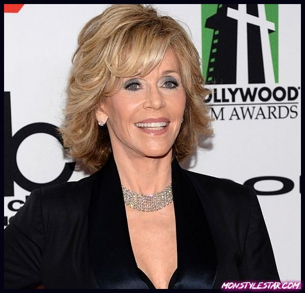 15 coiffures spectaculaires de Jane Fonda