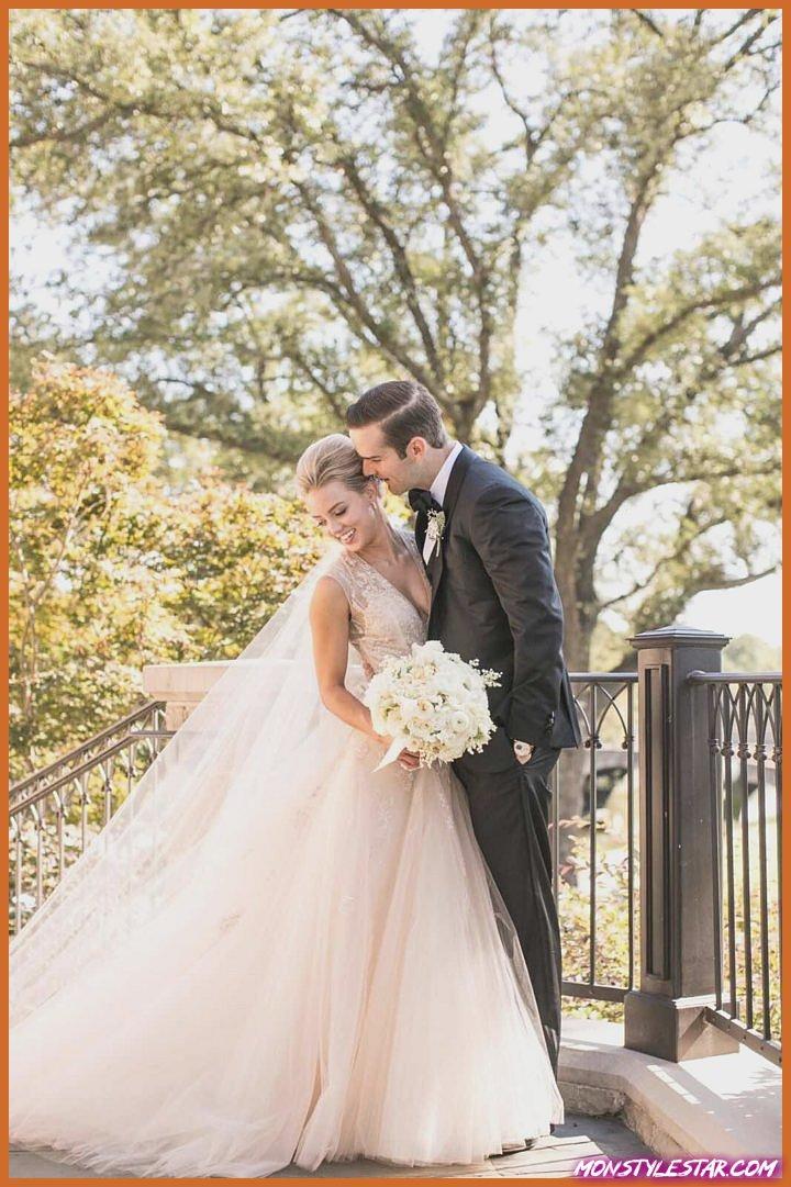 Mariage de luxe à Dallas avec des détails de fard à joues de Samuel Lippke Sudios