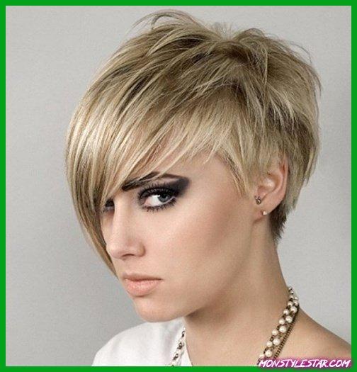 Asymmetrical Pixie Hairstyle coiffures courtes simples pour les femmes