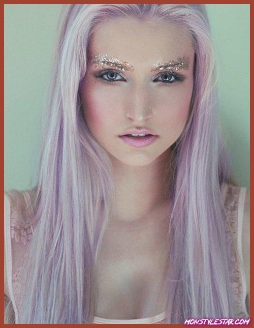 Photo de 15 idées envers les chevelure parme tableau