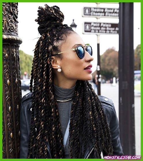 Photo de 15 sérieux coiffures Kinky Twists