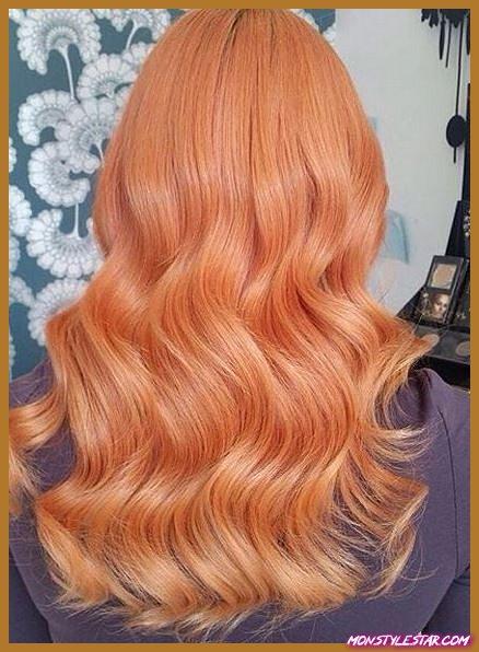 Couleurs fondues en sourdine - nuances de cheveux roux