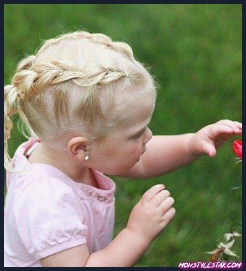20 coiffures bébé fille