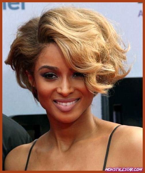 Photo de 20 grandes coiffures courtes noires
