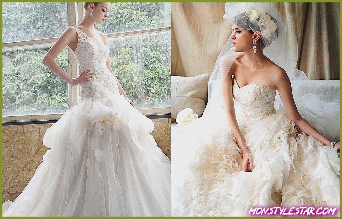 Photo de Saison Blanche Robes de mariée avec élégance gracieuse