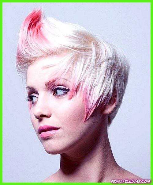 Photo de 20 coupes de chevelure épineuses courtes à cause les femmes