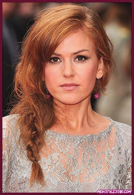 20 images de coiffures longues parfaites pour les visages ronds