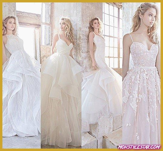 Photo de Drop-dead Gorgeous Printemps 2018 Robes de mariée Hayley Paige