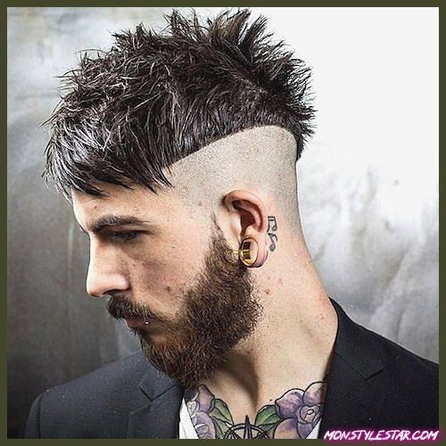 15 coiffures hérissées pour hommes