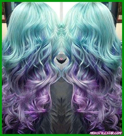 15 coiffures bleu pastel à couper le souffle