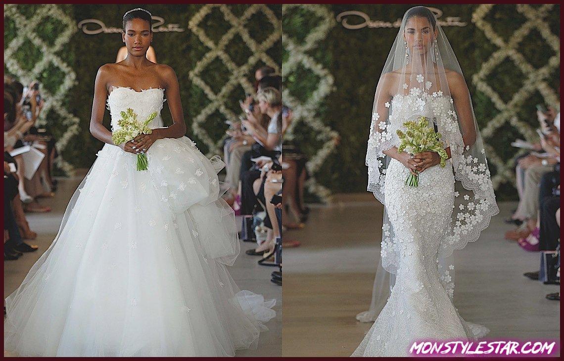 Photo de Flashback: Le rectifié des robes de épousée Médaille de la Renta