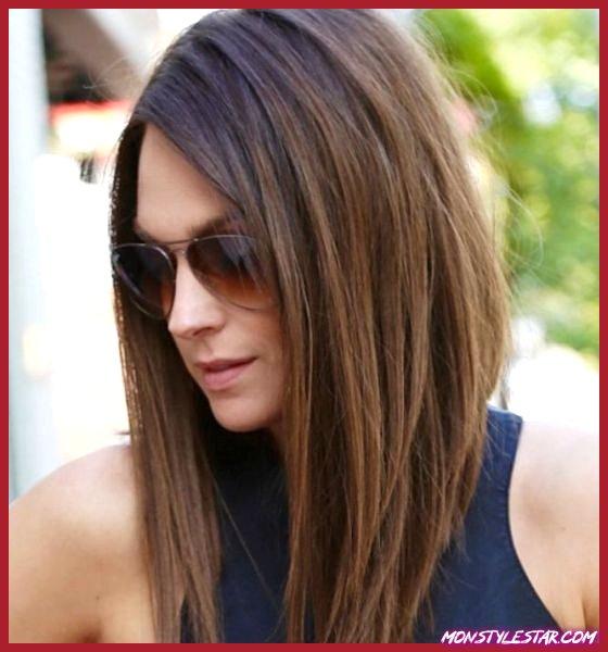 Différentes coupes de cheveux longs pour les femmes