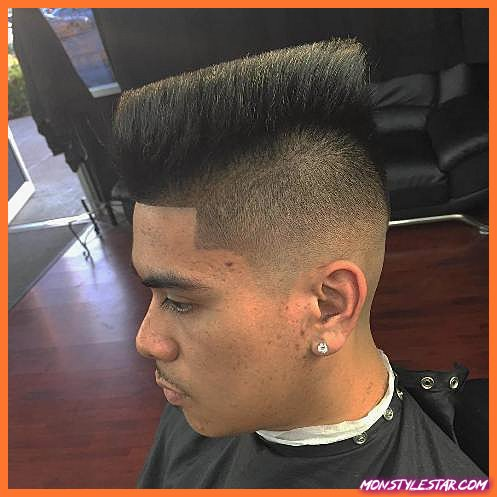 Meilleurs styles de coupes de cheveux Mohawk pour hommes noirs