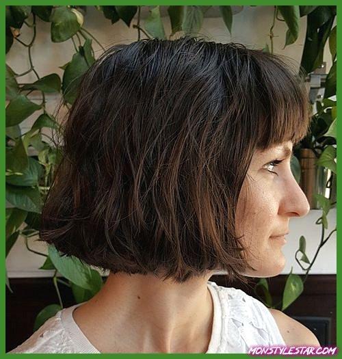 20 meilleures coiffures à franges courtes