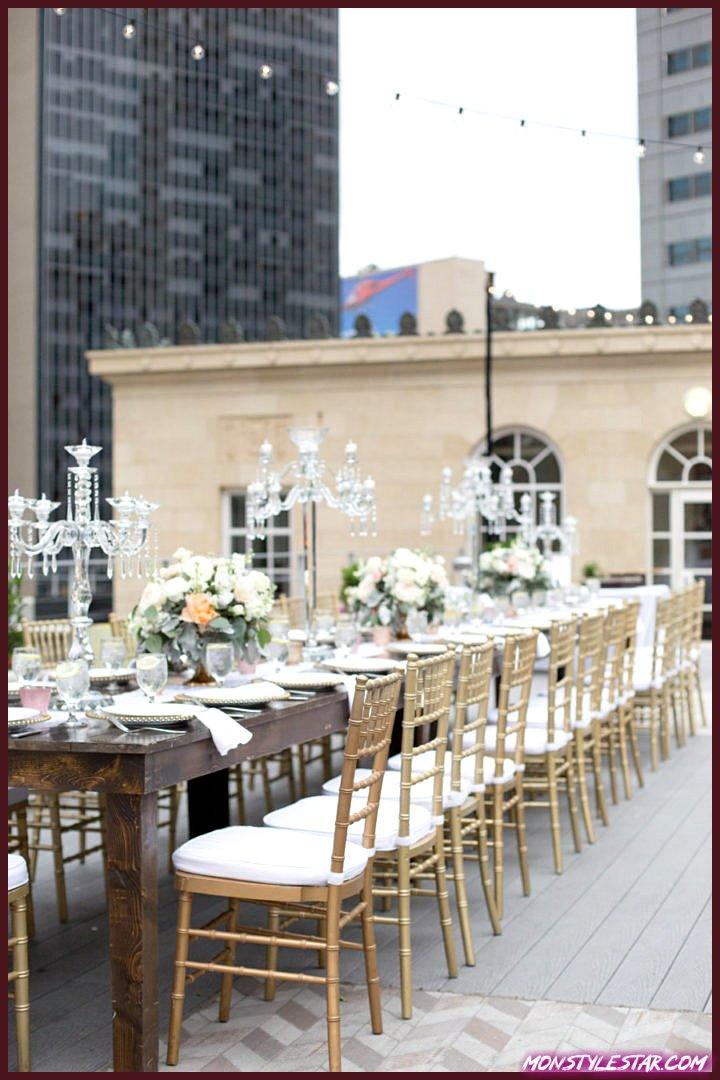 Mariage sur le toit de Dallas avec charme du sud de Bethany Erin Photography