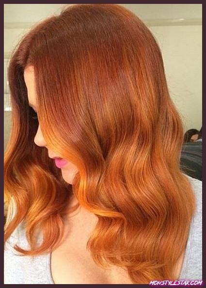 Ambre Waves - Nuances de cheveux roux