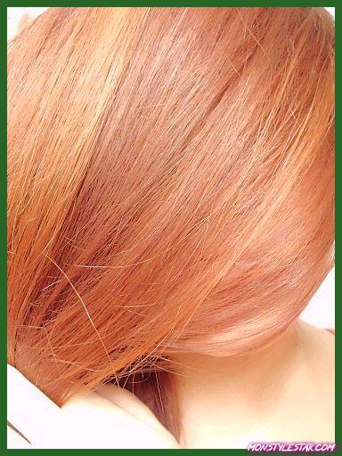 Pastel Blond Fraise Couleur Des Cheveux