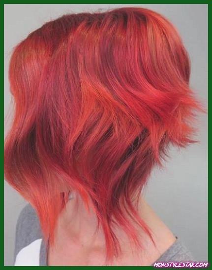 Red Crop Cut - Nuances de cheveux roux