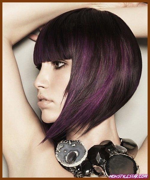 Photo de 15 coupes de chevelure moyennes derrière les femmes
