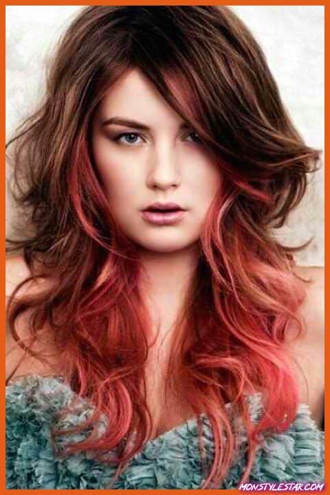 Idées de cheveux ombrés bruns