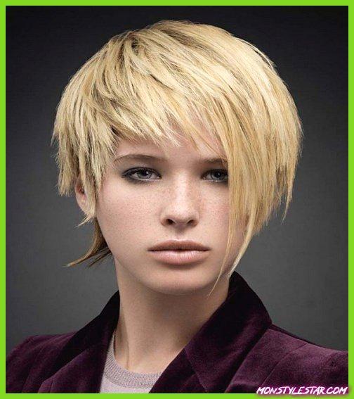 Edgy Short Hairstyle simple coiffures courtes pour les femmes