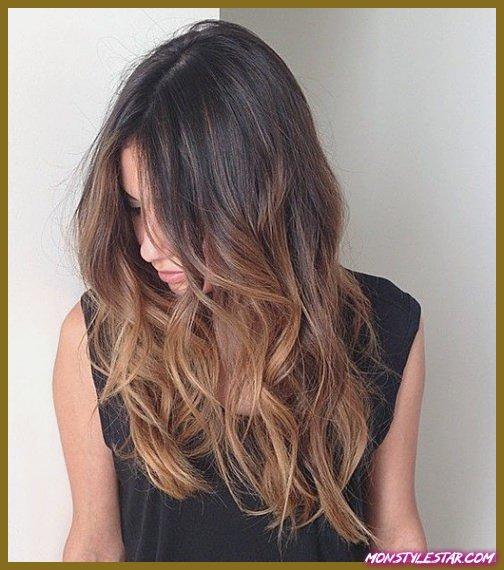 15 différentes couleurs de cheveux de balayage