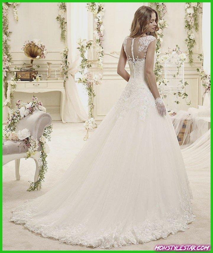 Florilège de l'publiciste: Monceau Colet de robes de épousée Nicole Spose 2019