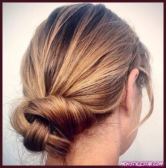 15 Updos uniques pour cheveux fins
