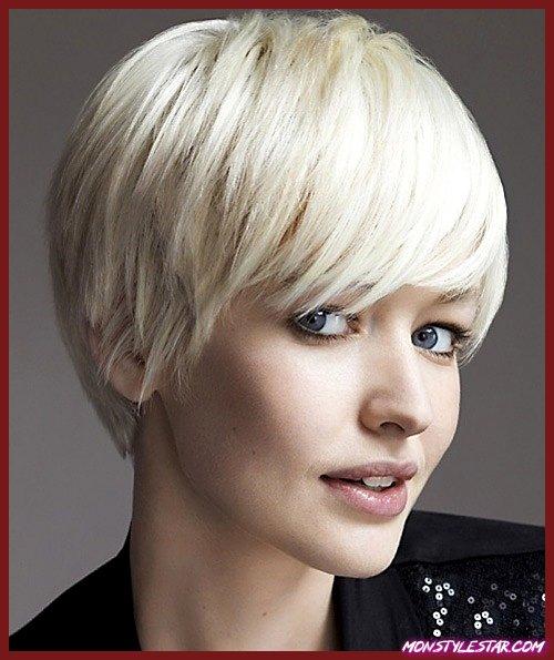 Photo de 20 meilleures coiffures à franges courtes