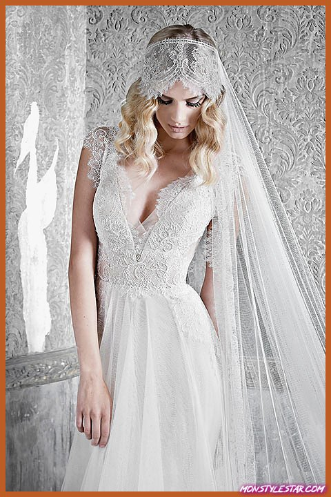 Choix de l'éditeur: Robes de mariée Pallas Couture avec des détails de conception exceptionnels