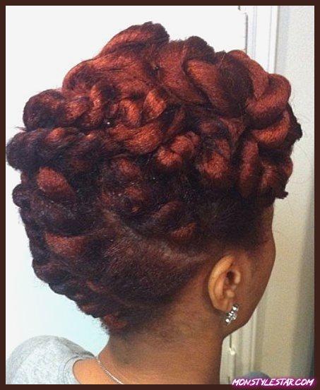 20 chignons pour cheveux naturels