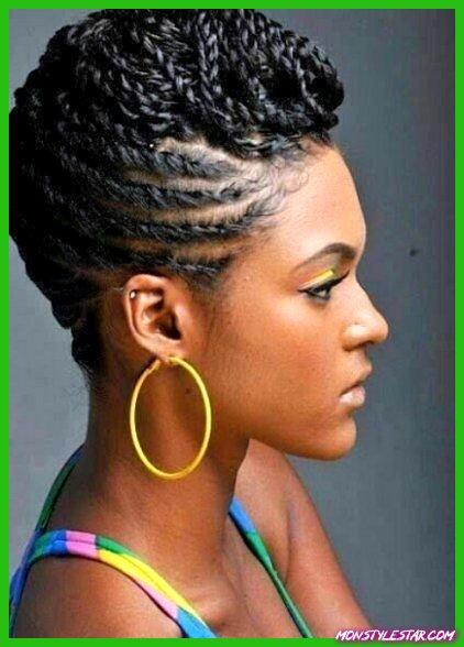 20 coiffures noires élégantes de cordon