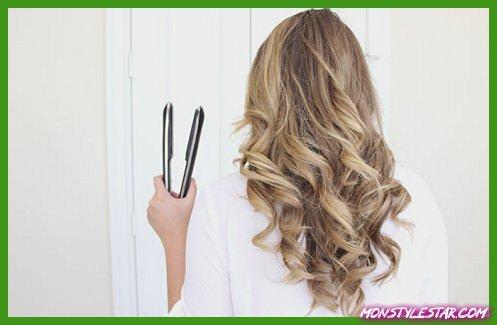 Photo de Comment friser les cheveux avec un lisseur?