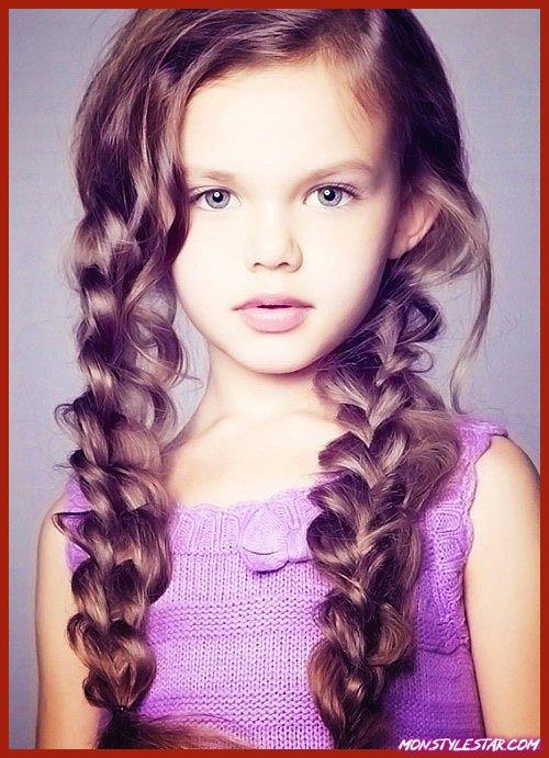 20 meilleures coiffures revers les petites filles