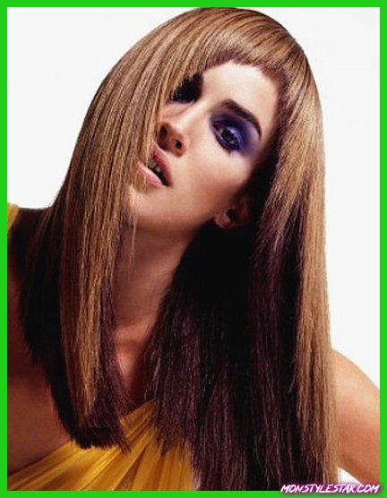 20 coiffures droites
