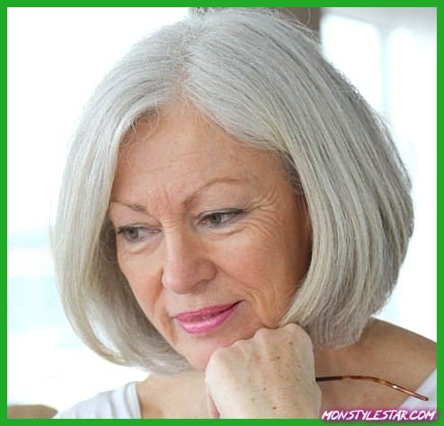 Des coiffures différentes pour les femmes plus âgées